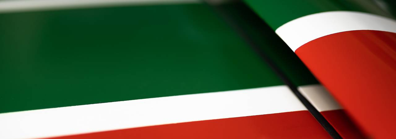 The chromatic evolution of Italian racing cars Colour Suggestions